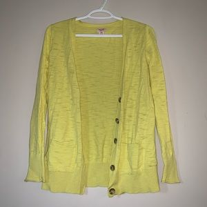 Mossimo Supply Vibrant Button Up Cardigan
